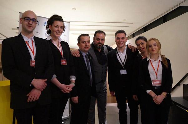 Σπουδαστές και καθηγητές του ΙΕΚ ΑΛΦΑ Θεσσαλονίκης στο συμπόσιο της Λέσχης Αρχιμαγείρων