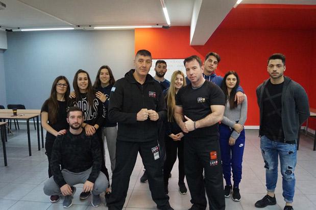Σεμινάριο Krav Maga πραγματοποιήθηκε στο ΙΕΚ ΑΛΦΑ Θεσσαλονίκης