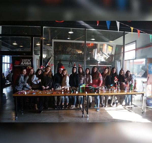 Το Χριστουγεννιάτικο Bazaar του ΙΕΚ ΑΛΦΑ Θεσσαλονίκης