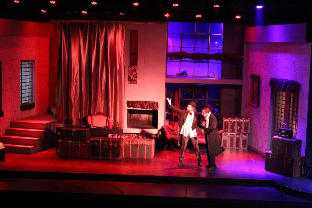 Χριστούγγενα με τον Σκρουτζ του Κάρολου Ντίκενς στο Θέατρο Λαμπέτη